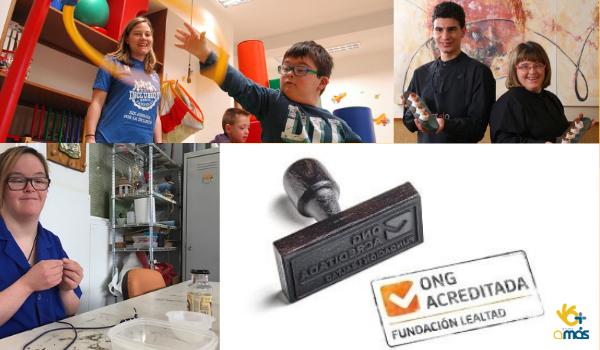 Fundación Lealtad renueva el sello de Transparencia y Buenas Prácticas a Grupo AMÁS