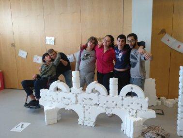 Visita al Museo Nacional de Ciencia y Tecnología en Alcobendas. Foto: Grupo AMÁS