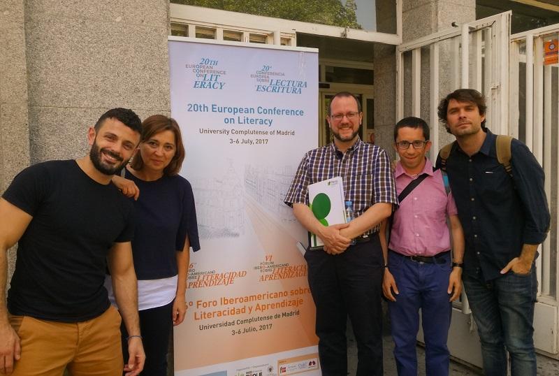 AMÁS Fácil en el Foro Iberoamericano de Literacidad y Aprendizaje. Foto: Grupo AMÁS