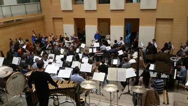 Orquesta y Coro de la Comunidad de Madrid. Foto: ORCAM