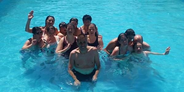 Programa de Vacaciones 2016 del Servicio de Ocio de Grupo AMÁS. Foto: Grupo AMÁS