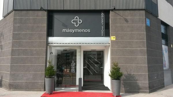Concept Store Másymenos de Grupo AMÁS. Foto: Grupo AMÁS.