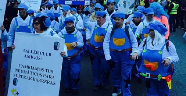 Carnavales en Alcorcón 2016. Foto Grupo AMÁS