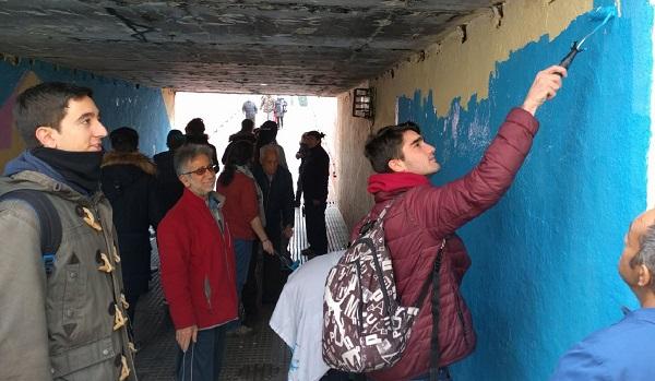 """La iniciativa """"Transforma tu ciudad"""" en la Semana de la Diversidad de Leganés en 2016. Foto: Grupo AMÁS."""