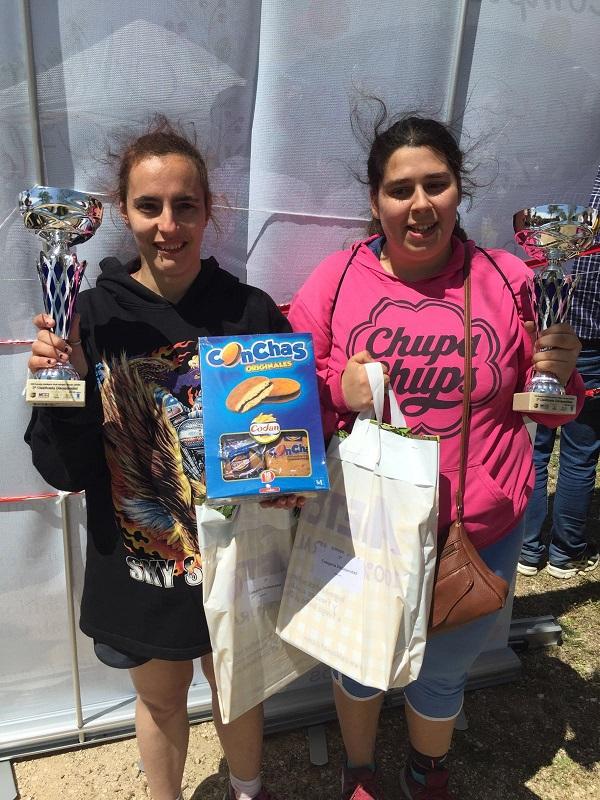 Premios en la categoría Discapacidad Femenino. Foto: Grupo AMÁS.