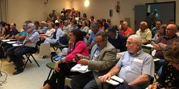 Asistentes a la primera reunión del Plan Estratégico 2017-2020 de Grupo AMÁS. Foto: Grupo AMÁS.