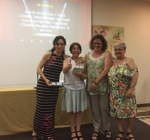 Club de Lectura Fácil y Taller Literario. Foto: Grupo AMÁS.