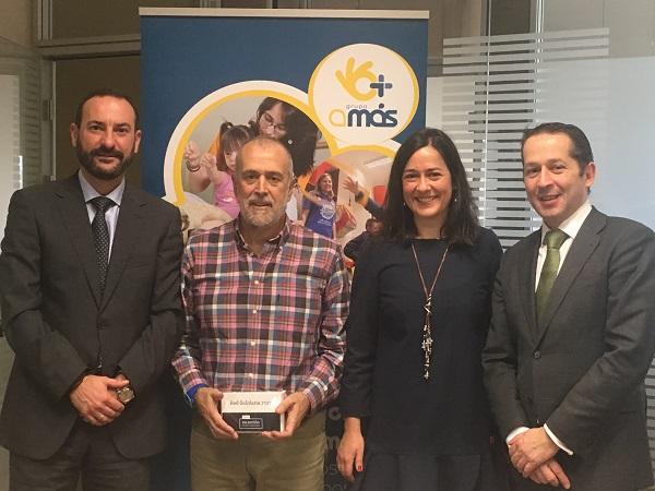 Bankia apoya con 3.000 euros dos proyectos formativos de Grupo AMÁS sobre inserción laboral y nuevas tecnologías. Foto: Grupo AMÁS.