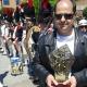 José Arece, usuario de Grupo AMÁS, galardonado en IV Edición de los Premios Mostoleños.