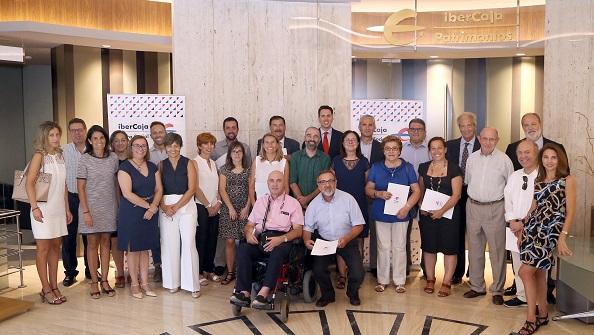Entrega de los convenios sociales de Fundación Ibercaja.
