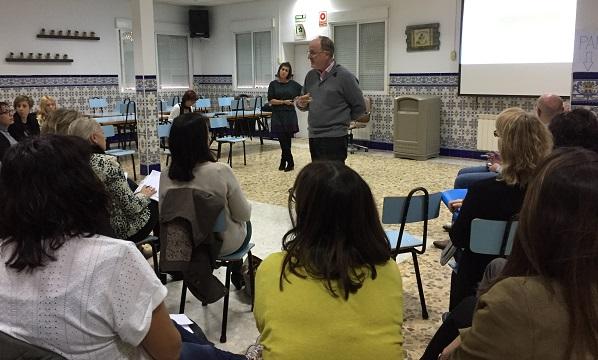 """Presentación de """"Proyectos transformadores"""". Foto: Grupo AMÁS."""