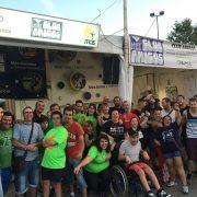 Chiringuito Solidario de Club Amigos en las fiestas de Alcorcón 2016. Foto: Grupo AMÁS.