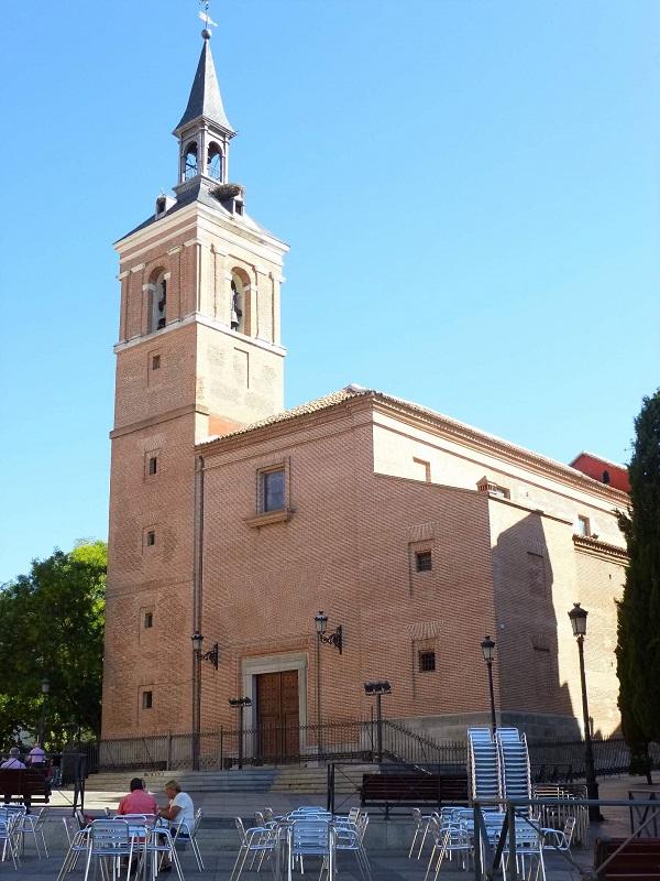 Iglesia del Salvador, Leganés.
