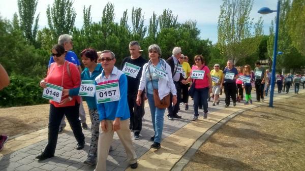 Participantes de la Marcha Solidaria. Foto: Grupo AMÁS.