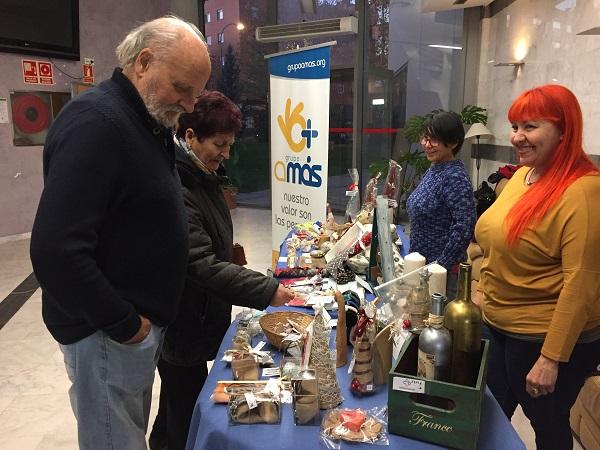 Mercadillo navideño de Grupo AMÁS. Foto: Grupo AMÁS.