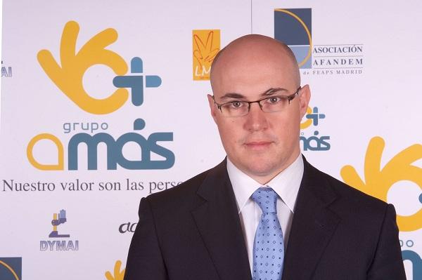 Óscar García, Director General de Desarrollo Corporativo de Grupo AMÁS. Foto: Grupo AMÁS.
