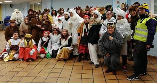 Participantes en la Cabalgata organizada por Club Amigos. Foto: Grupo AMÁS.