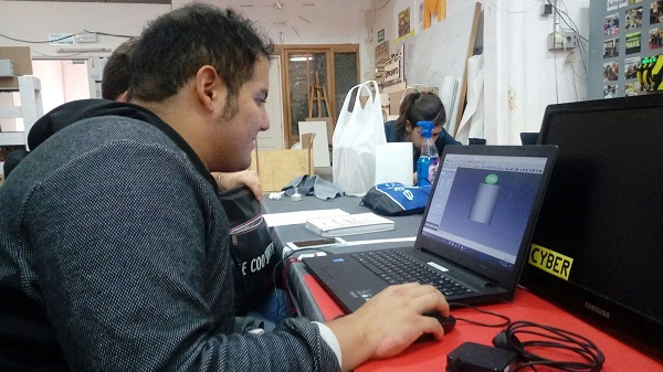 "Formación en diseño e impresión 3D, proyecto ""Impress 3D"". Foto: Grupo AMÁS"