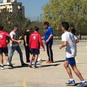 X Jornada Deportiva en el Instituto Rayuela de Móstoles, a favor de Grupo AMÁS. Foto: Grupo AMÁS.