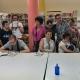 Club de Lectura Fácil en la Biblioteca Rigoberta Menchú de Leganés. Foto: Grupo AMÁS