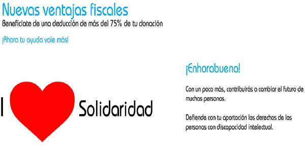 Nuevos incentivos fiscales para las donaciones. Foto: Grupo AMÁS.
