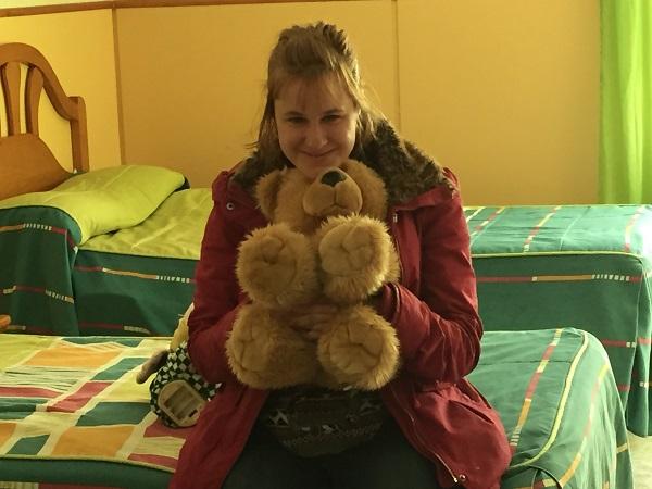 Soraya Almagro en su habitación. Foto: Grupo AMÁS.