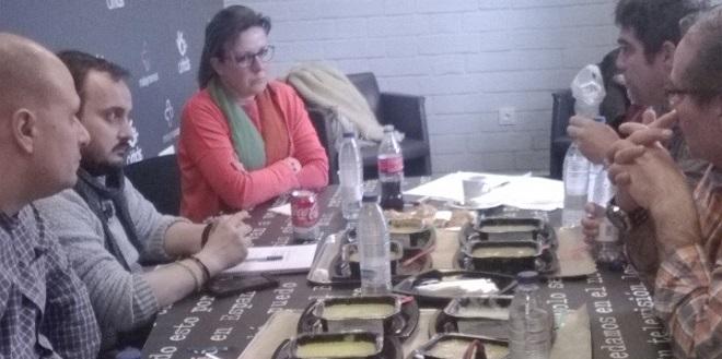 Reunión del primer Laboratorio de Cocina Inclusiva de Grupo AMÁS. Foto: Grupo AMÁS.