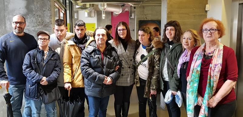 Presentación del Plan de Igualdad en el Ayuntamiento de Móstoles. Foto: Grupo AMÁS.