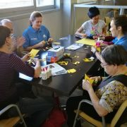 Semana Social del Voluntariado de la Caixa con Grupo AMÁS. Foto: Grupo AMÁS.