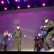 Actuación de AMÁS Escena en el FESTINAV 2017. Foto: Grupo AMÁS.