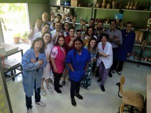 Los artistas taller de cerámica seleccionados por Convergentes