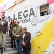 El alcalde de Leganés, Santiago Llorente en la inauguración de Lega Integra. Foto: Grupo AMÁS.