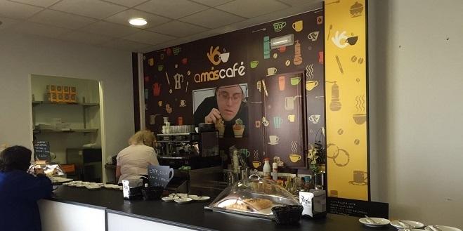 Calidad e inclusión en AMÁS Café. Foto: Grupo AMÁS.