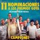 """La película """"Campeones"""" acude a los Premios Goya con once nominaciones:"""