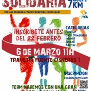 El 6 de marzo se celebra la carrera solidaria de Fuenllana. Foto: Grupo AMÁS.