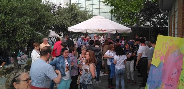 """Catering de clausura de la Jornada """"Welcome Familias"""". Foto: Grupo AMÁS."""