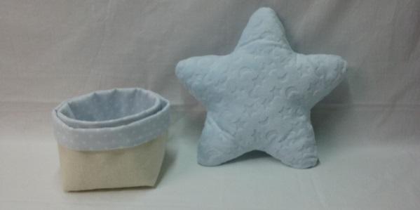 """Productos elaborados por el Centro Prado Regordoño para """"Mi pequeña buhardilla"""". Foto: Grupo AMÁS."""