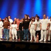 Artistas de AMÁS Escena. Foto: Grupo AMÁS.