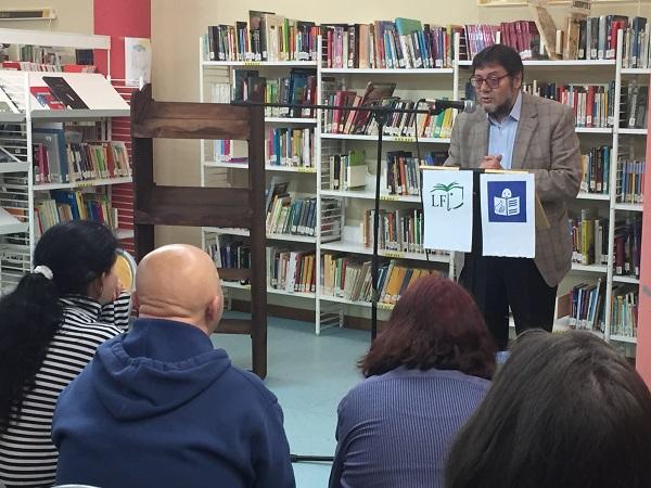 Luis Martín de la Sierra, Concejal de Cultura del Ayuntamiento de Leganés. Foto: Grupo AMÁS.