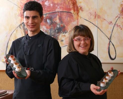 Servicio de catering  AMÁS Antojo. Foto Grupo AMÁS