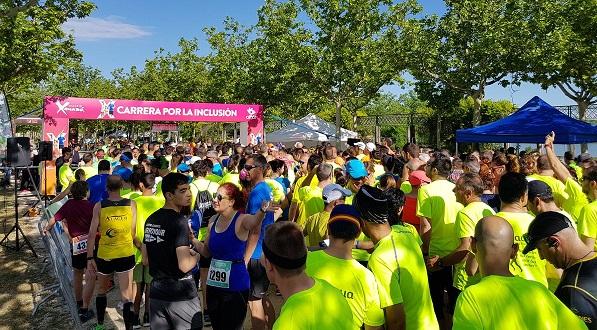 Más de 2.000 participantes en la X Carrera por la Inclusión. Foto: Grupo AMÁS.