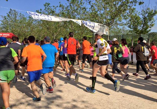 1.900 corredores participaron en la VIII Carrera Solidaria. Foto: Grupo AMÁS.