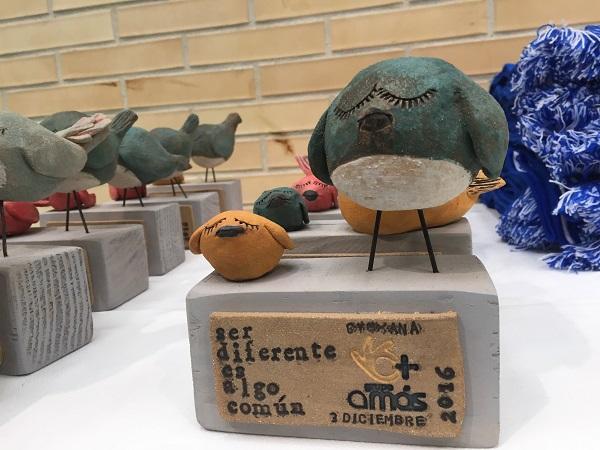Detalle del trofeo de la Gymkana Deportiva. Foto: Grupo AMÁS.