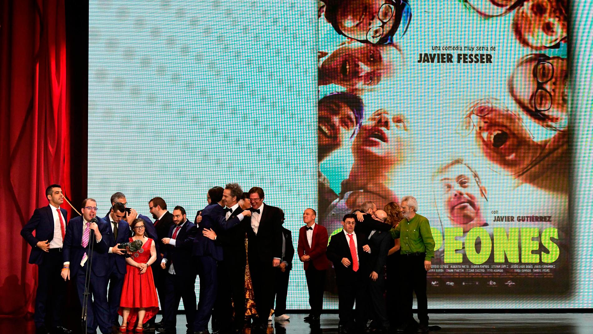 """""""Campeones"""" premio Goya Mejor Película 2019."""