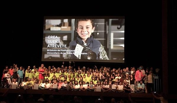 Premiados en Emove Festival 2017. Foto: Grupo AMÁS.