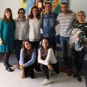 Equipo de trabajo proyecto MayorES+ Foto: Grupo AMÁS.