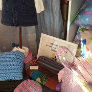 """Productos elaborados por personas con discapacidad intelectual en """"Caprichos del hogar"""". Foto: Grupo AMÁS."""