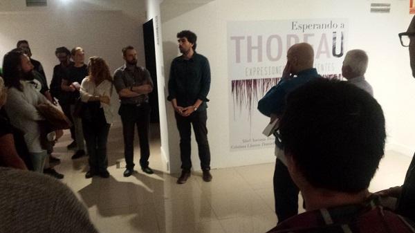 """Exposición """"Esperando a Thoreau"""". Foto: Grupo AMÁS."""