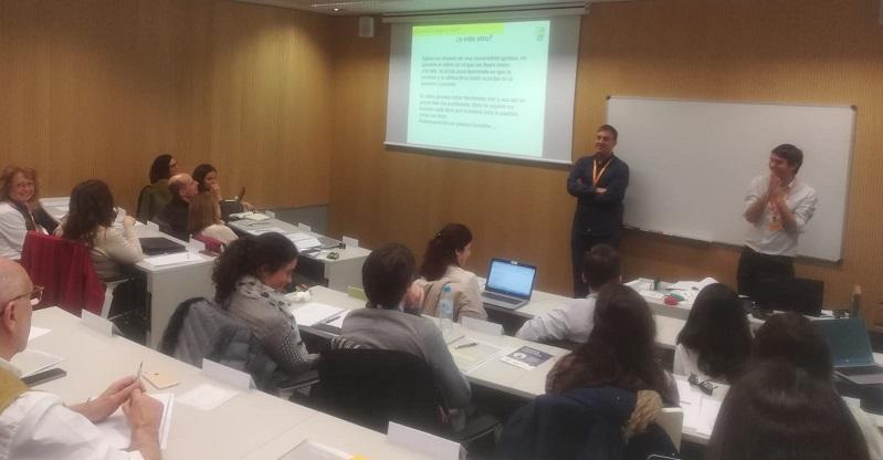 Formación realizada en Lectura Fácil. Foto: Grupo AMÁS.