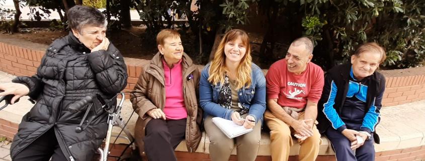 """Equipo de evaluador@s """"Lugares para todos"""" de Grupo AMÁS. Foto: Grupo AMÁS"""